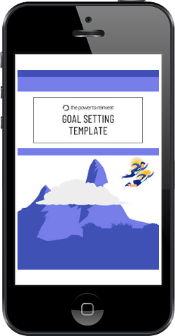 goal setting template in iphone