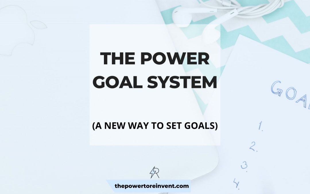 What is a Power Goal? Set Powerful Goals with The Law of Attraction