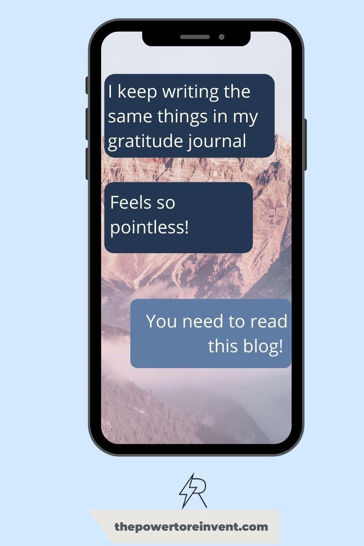 The Power of Gratitude Pin 2