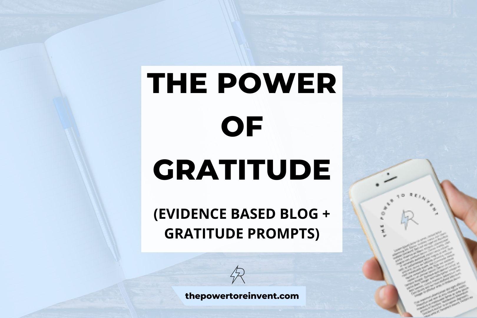 Gratitude Practice  Header