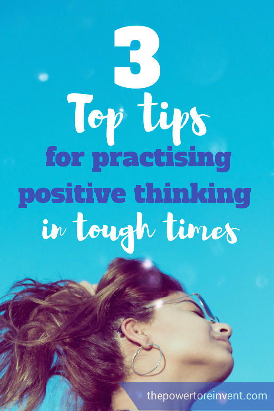 top tips for practising positive thinking